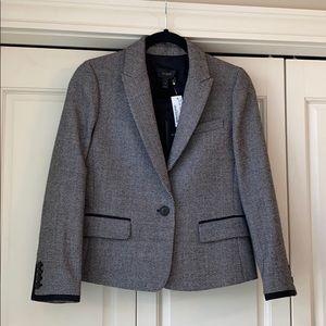 J Crew short tweed jacket.